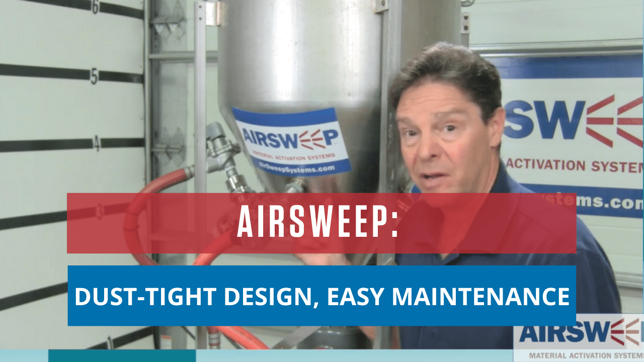 AirSweep: Dust-Tight Design, Easy Maintenance!
