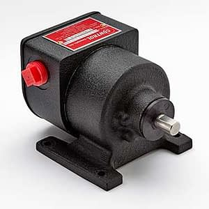 The 2100 Series Dazic Zero Speed Switches are electromechanical rotary motion controls requiring no electrical input to operate. It is ideal for shaft input speeds of 4 to 2000 RPM.