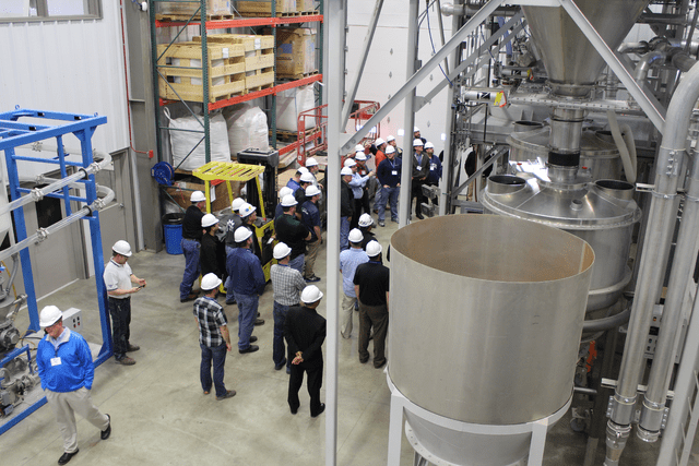 Control Concepts and Airsweep partner with Kansas State University Bulk Solids Innovation Center