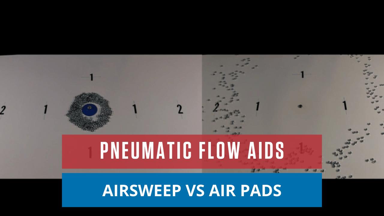Pneumatic Flow Aids: AirSweep vs Air Pads