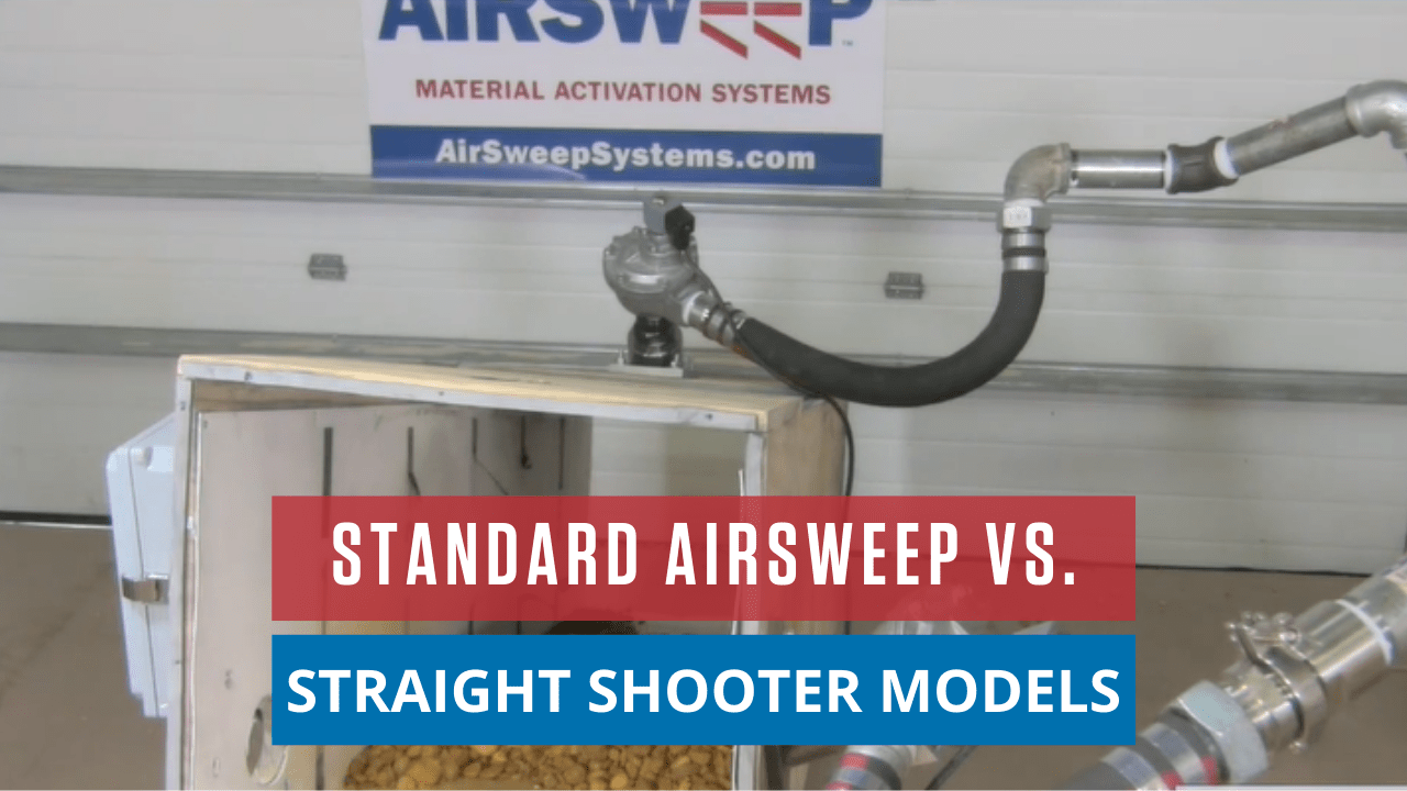 Standard AirSweep vs. Straight Shooter Models