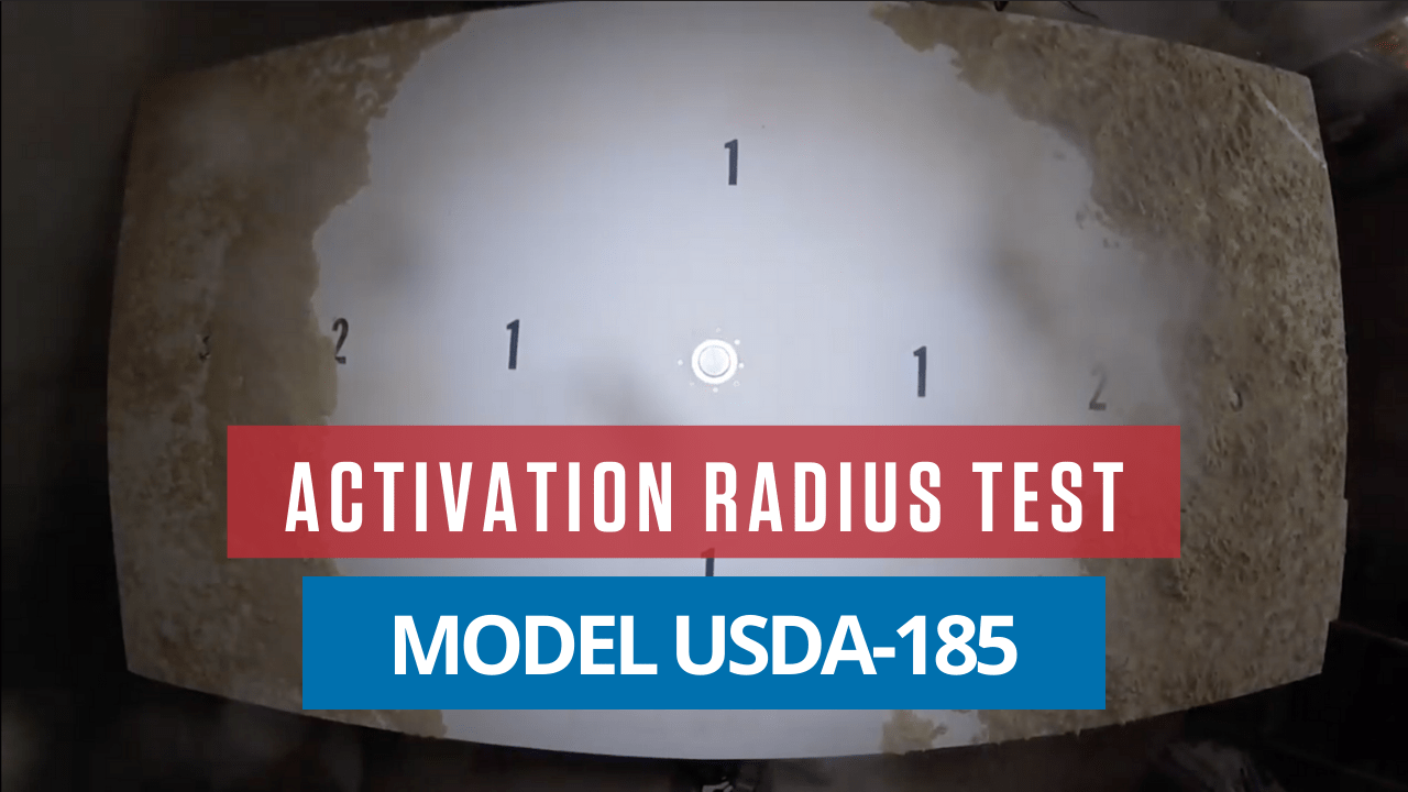 AirSweep USDA Material Activation Test
