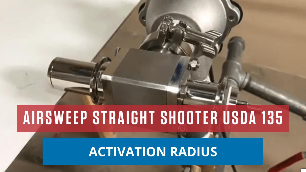 AirSweep Straight Shooter USDA 135 Activation Radius