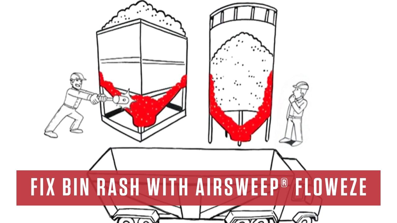 Fix Bin Rash with AirSweep® Floweze