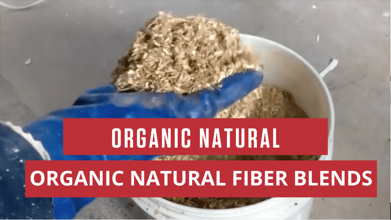 Organic Natural Fiber Blends Material Flow Test